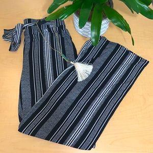 JOE B wide leg printed pants